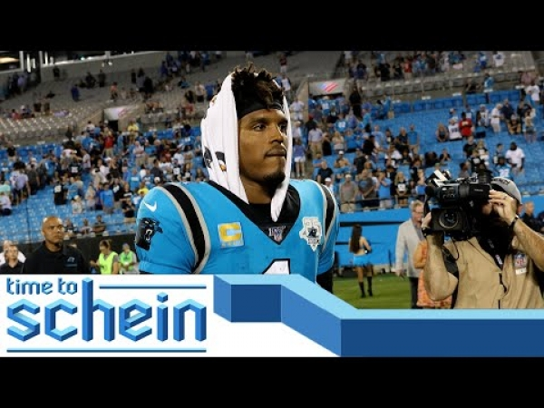 Cam Newton is out in Carolina... this is a great day for the Panthers  | Time to Schein