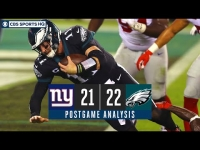 Week 7 Recap: Eagles pull off comeback win over Giants, move into 1st in NFC East | CBS Sports HQ