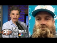 Ryan Fitzpatrick sulking after getting benched for Tua | Pro Football Talk | NBC Sports
