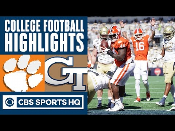 #1 Clemson vs Georgia Tech Highlights: Trevor Lawrence posts career passing day | CBS Sports HQ